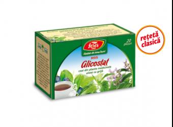 Glicostat (reţetă clasică), M95, ceai la plic