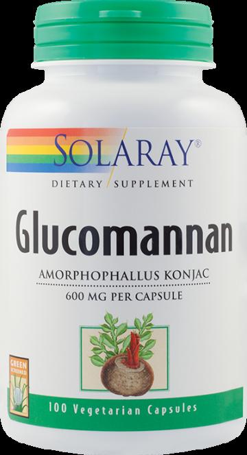 Glucomannan 600mg  100 cps Vegetale