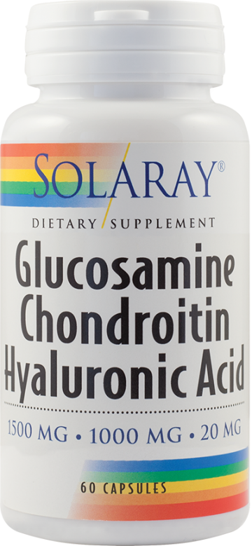 Glucosamine Chondroitin Hyaluronic Acid  60cps