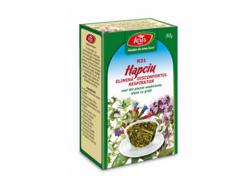 Ceai Hapciu – Elimină Disconfortul Respirator R31 50 gr.