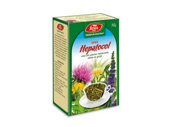Ceai Hepatocol D44  50 gr