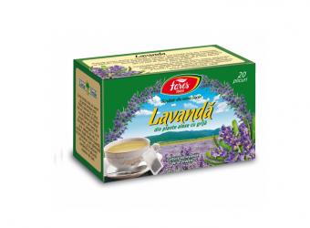 Lavandă, ceai la plic