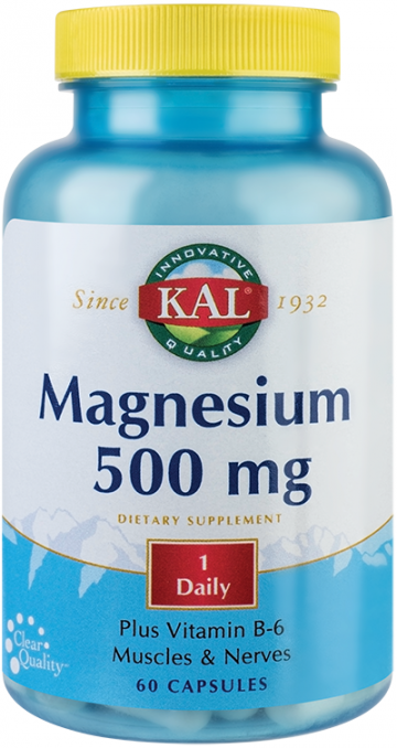 Magnesium 500mg 60 cps