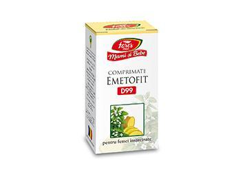 Emetofit(sarcina) D99 60 cpr masticabile