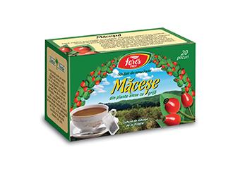 Măceșe, ceai la plic