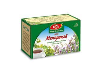 Menopauză, G72, ceai la plic