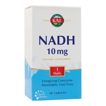 NADH 10 mg, 30 tablete