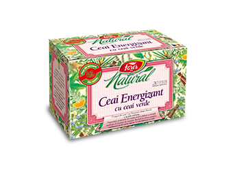 Natural – Ceai energizant cu ceai verde, la plic