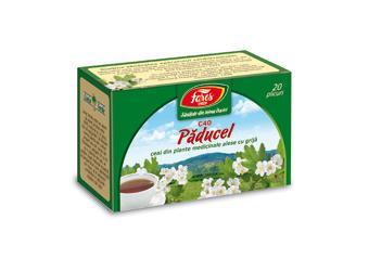 Păducel, frunze și flori, C40, ceai la plic
