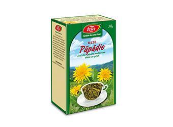 Păpădie, frunze, D126, ceai la pungă