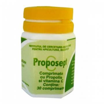 Proposept Cu Vitamina C 30 cpr