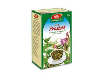 Prostată, G73, ceai la pungă