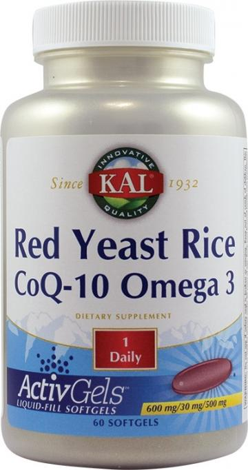 Red Yeast Rice CoQ-10 Omega-3  60cps