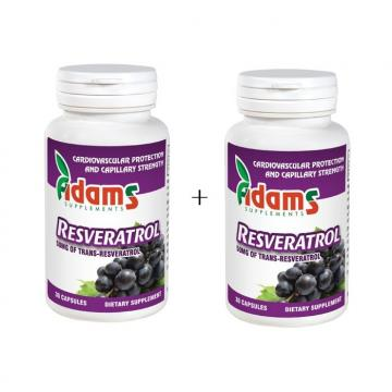 Resveratrol  100mg   1+1 Gratuit