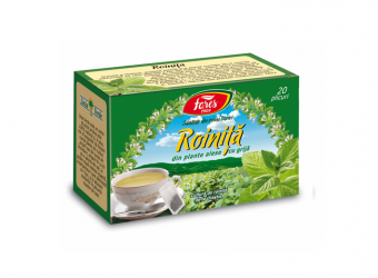 Roiniță, ceai la plic