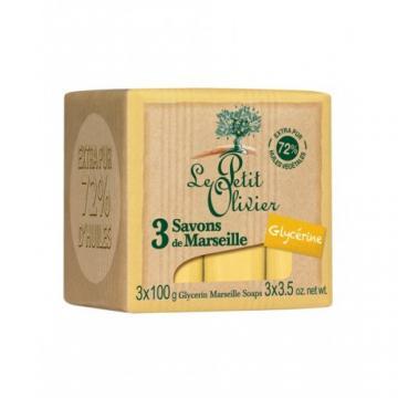 Sapun  de Marsilia extra pur 72% ulei de masline+glicerina