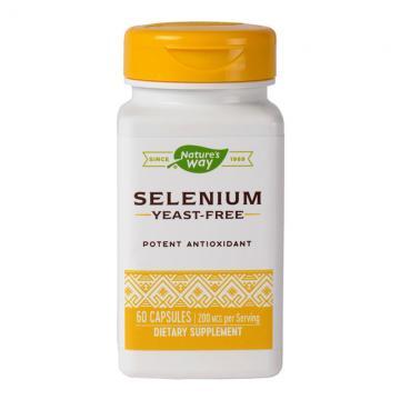 Selenium 200mcg  60cps