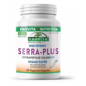 Serra-Plus Serrapeptase 120000SU  30cps Vegetale
