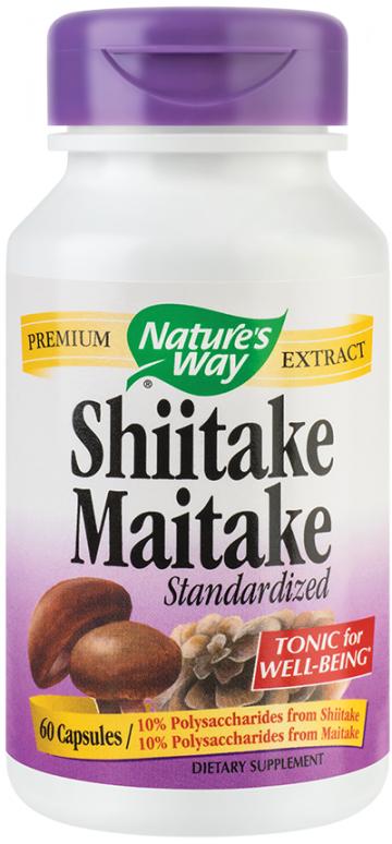 Shiitake Maitake SE  60cps Vegetale