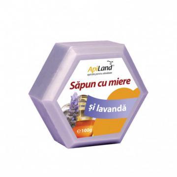 Sapun cu miere si lavanda