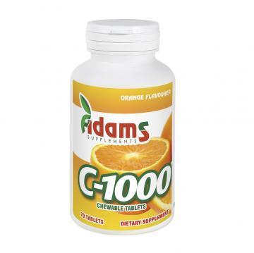 Vitamina C 1000 mg 70 tb, Adams
