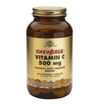 Vitamina C 500 mg Portocale 90 tb masticabile