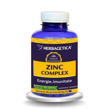 ZINC Complex, 120 cps*,Herbagetica