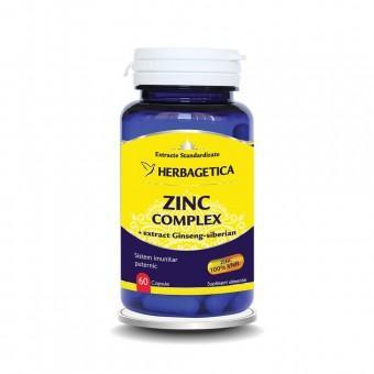 ZINC Complex, 60 cps*, Herbagetica